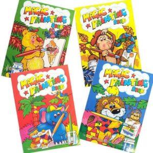 A4 Magic Paint Colouring Books