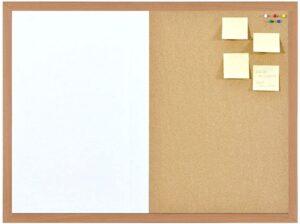 450mm x 300mm Combination Notice Board