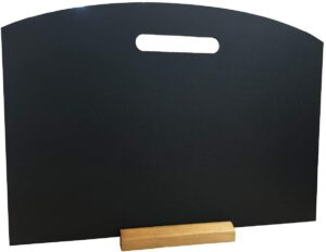A3 Tabletop Menu With Handle