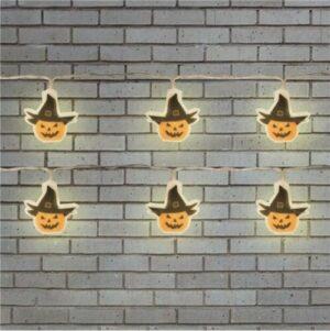 1.5m Pumpkin LED Lights