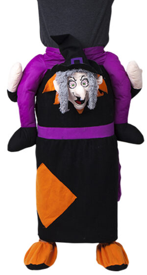 Shoulder Carrying Witch Costume