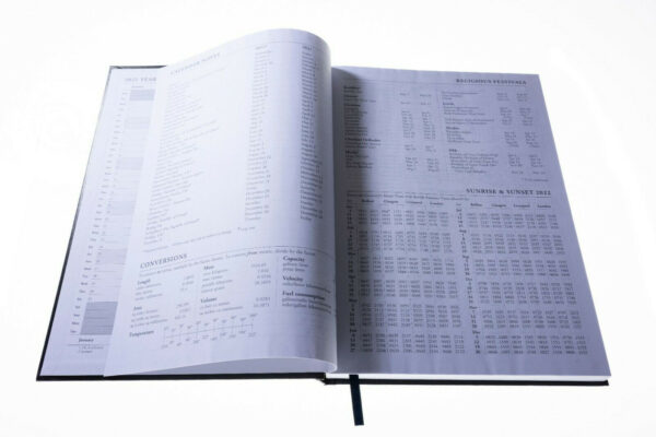 A4 Day Per Page Appointment Diary