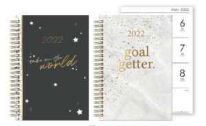 Gold Foil Diary