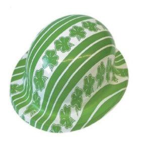 Shamrock/Irish Plastic Bowler Hats
