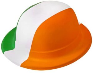 Plastic Bowler Hat