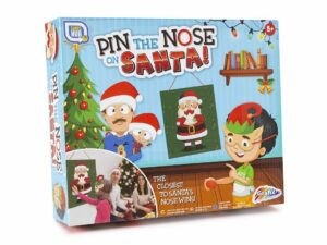 Pin The Nose On Santa Game