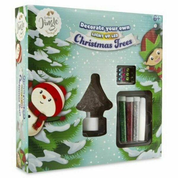Decorate Your own LED light Up Christmas Tree