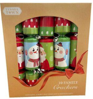 Santa/Snowman Christmas Crackers