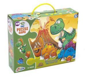 Grafix 3D Dinosaur Puzzle