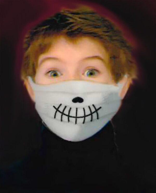Junior Monster Halloween Face Masks