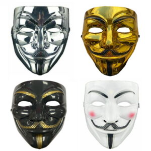 Plastic Anonymous Face Mask