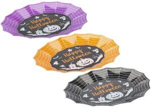 33cm Halloween Party Food Trays