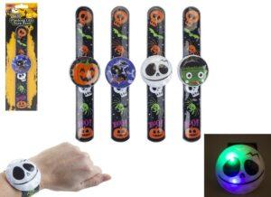 Halloween Light Up Snap On Bracelets