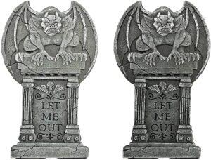 "24"" Gargoyle Gravestones"