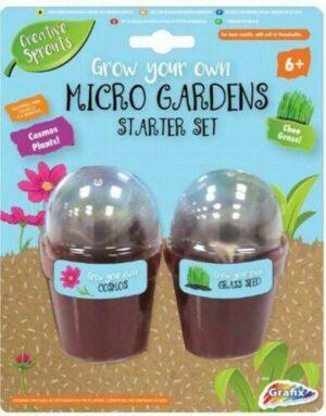Grow Your Own Micro Garden Starter Set