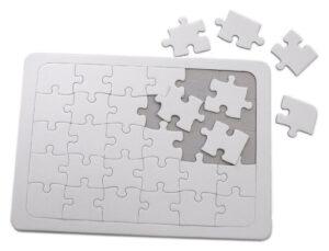 Blank A4 Jigsaw Puzzles